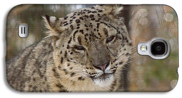 Snow Leopard Galaxy S4 Case