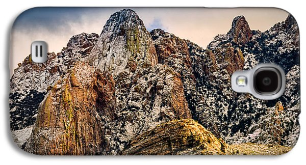 Galaxy S4 Case featuring the photograph Snow On Peaks 45 by Mark Myhaver