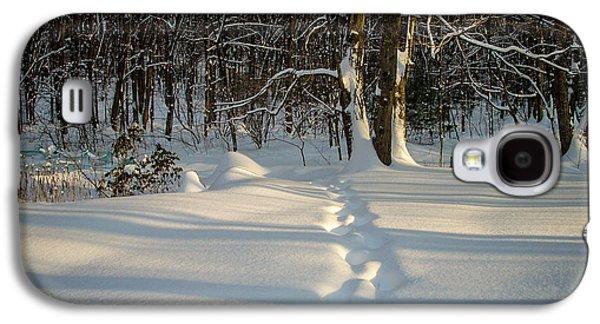 Snow Path Galaxy S4 Case