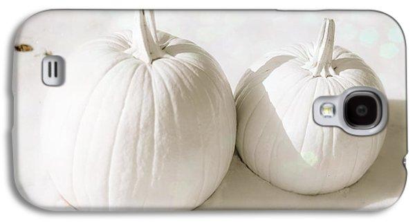 Snow Pumpkins Galaxy S4 Case by Sonja Quintero