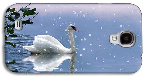 Snow Swan  Galaxy S4 Case