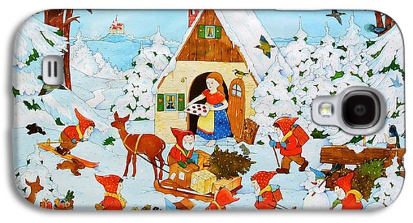 Snow White And The Seven Dwarfs Galaxy S4 Case by Christian Kaempf