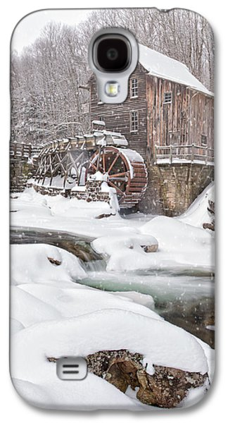 Snowglade Creek Grist Mill Galaxy S4 Case by Emmanuel Panagiotakis