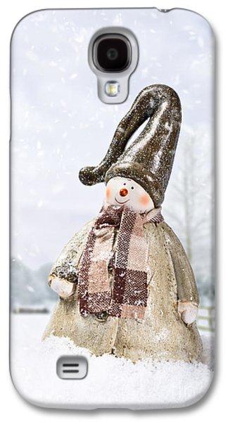 Snowman Galaxy S4 Case by Amanda Elwell