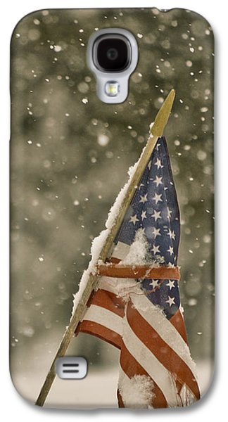 Snowy American Galaxy S4 Case by Trish Tritz