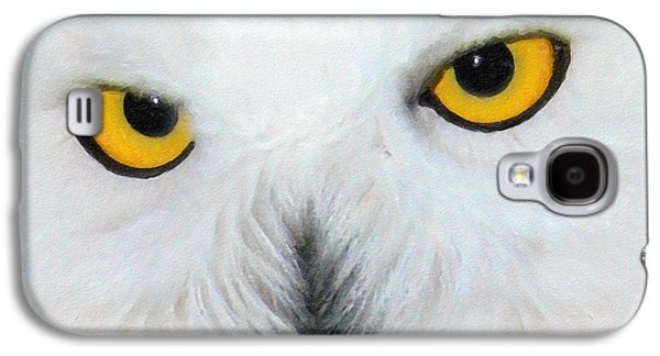 Snowy Face Galaxy S4 Case