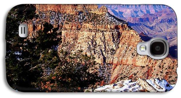 Snowy Grand Canyon Vista Galaxy S4 Case