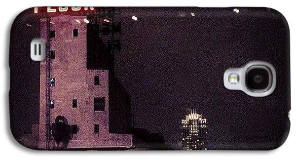 Light Galaxy S4 Case - Snowy Night  by Heidi Hermes