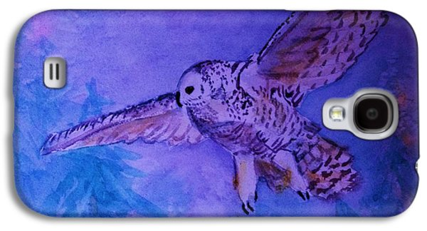 Snowy Owl  - Juvenille - Close Cropped Galaxy S4 Case
