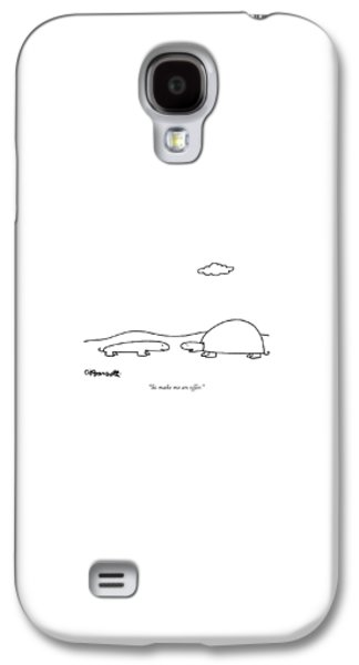 Salamanders Galaxy S4 Case - So Make Me An Offer by Charles Barsotti