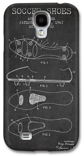 Soccer Shoe Patent From 1967 Galaxy S4 Case by Aged Pixel