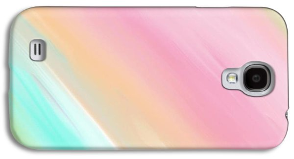 Soft Rainbows Galaxy S4 Case by Constance Carlsen