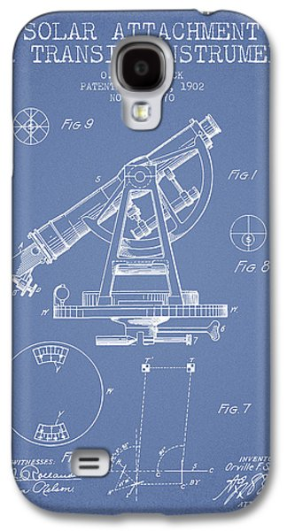 Solar Attachement For Transit Instruments Patent From 1902 - Lig Galaxy S4 Case by Aged Pixel