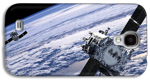 Solar Terrestrial Relations Observatory Satellites Galaxy S4 Case by Anonymous