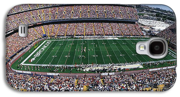 Sold Out Crowd At Mile High Stadium Galaxy S4 Case by Panoramic Images