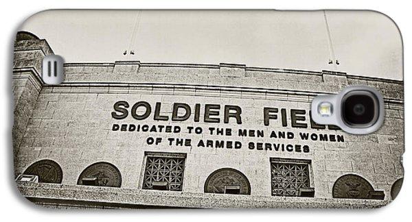 Soldier Field Galaxy S4 Case - Soldier Field by Jessie Gould