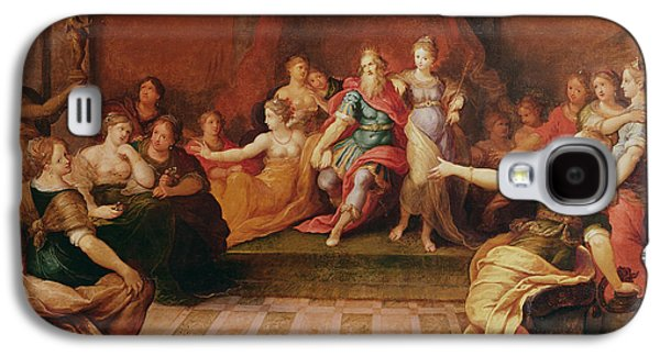 Solomon And His Women  Galaxy S4 Case by Frans II the Younger Francken