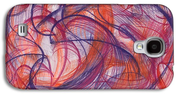 Something Larger Galaxy S4 Case by Kelly K H B