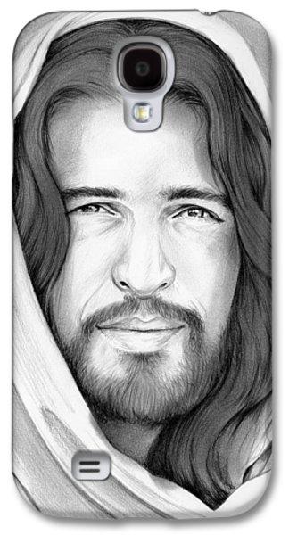 Son Of Man Galaxy S4 Case by Greg Joens