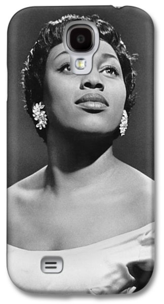 Soprano Leontyne Price Galaxy S4 Case by Underwood Archives