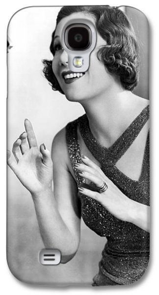 Soprano Vivienne Segal On Cbs Galaxy S4 Case by Underwood Archives