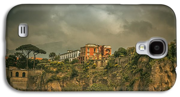 Sorrento Cliff Top Residence Galaxy S4 Case by Chris Fletcher