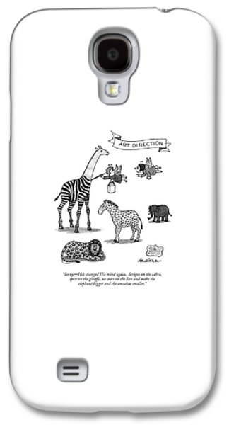 Sorry - He's Changed His Mind Again.  Stripes Galaxy S4 Case