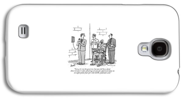 Sorry, It's Not The Governor, But You Still Galaxy S4 Case