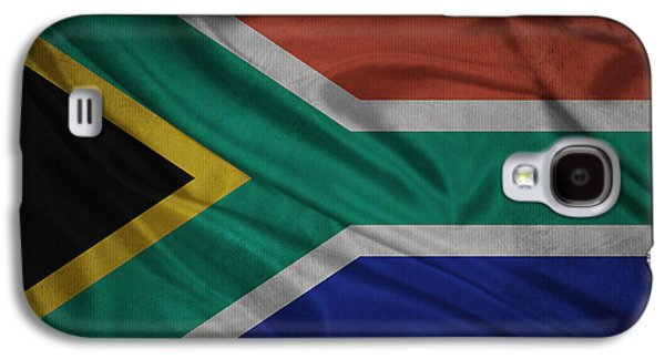 South American Flag Waving On Canvas Galaxy S4 Case by Eti Reid