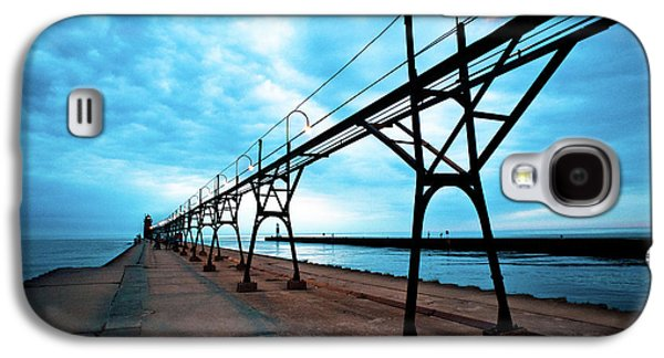 South Haven Lighthouse Galaxy S4 Case by Sebastian Musial