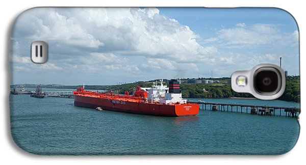 South Hook Lng Terminal, Milford Haven Galaxy S4 Case by Panoramic Images