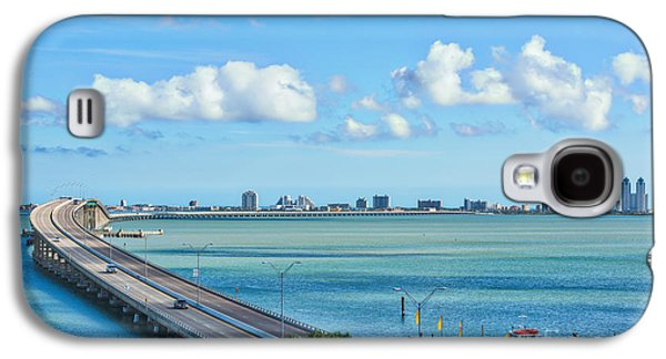 South Padre Island Bridge Galaxy S4 Case