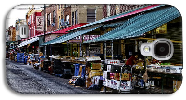 South Philly Italian Market Galaxy S4 Case by Bill Cannon