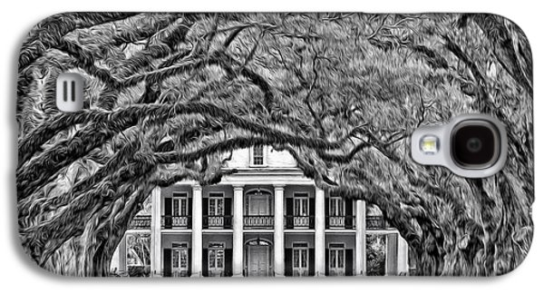 Southern Class Oil Bw Galaxy S4 Case