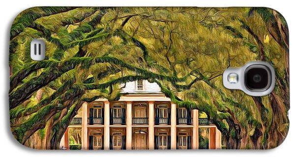 Southern Class - Paint Galaxy S4 Case by Steve Harrington