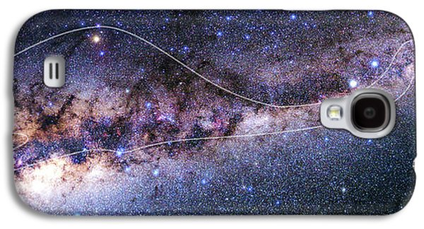 Southern Milky Way Galaxy S4 Case