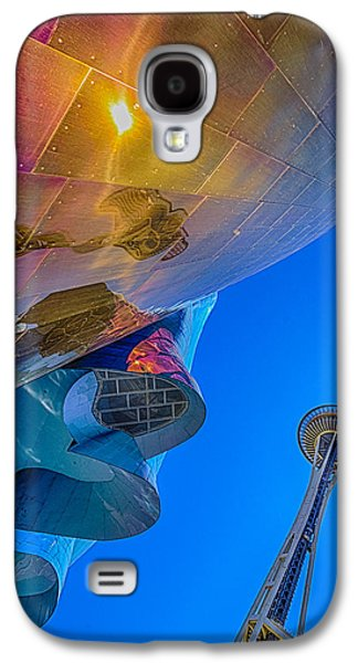 Space Needle And Emp In Perspective Hdr Galaxy S4 Case