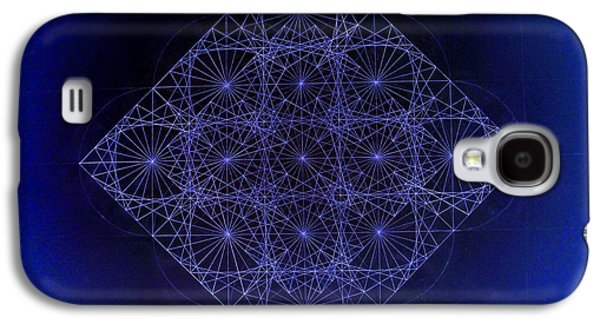 Space Time Sine Cosine And Tangent Waves Galaxy S4 Case