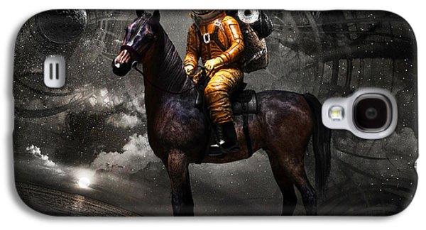 Horse Galaxy S4 Case - Space Tourist by Vitaliy Gladkiy