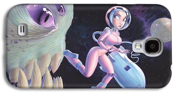 Space Walk Galaxy S4 Case by Richard Moore