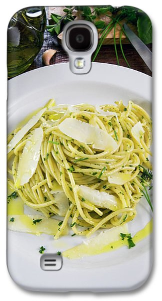 Spaghetti With Herbs - Rosemary, Thyme Galaxy S4 Case