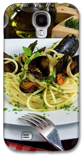 Spaghetti With Mussels (mytilus Galaxy S4 Case