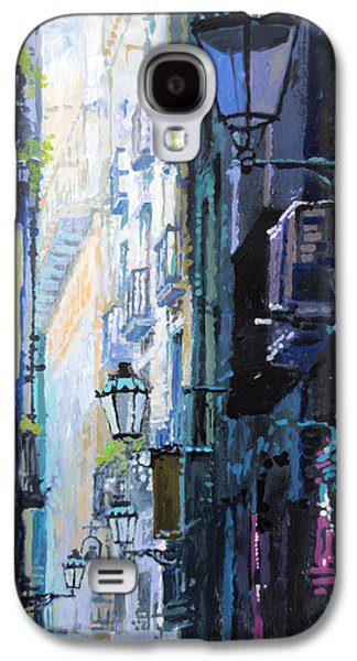 Spain Series 06 Barcelona Galaxy S4 Case by Yuriy Shevchuk