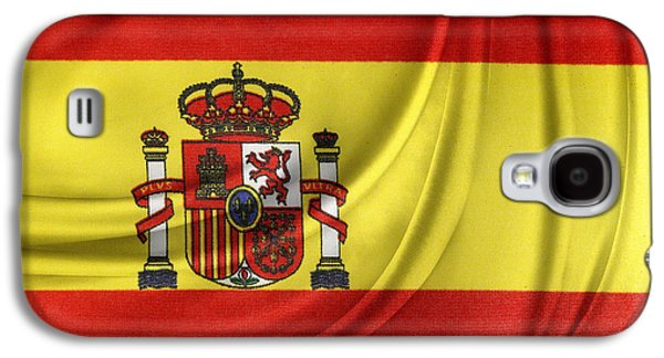 Spanish Flag Galaxy S4 Case by Les Cunliffe