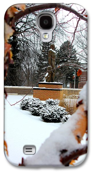 Sparty In The Winter Galaxy S4 Case by John McGraw
