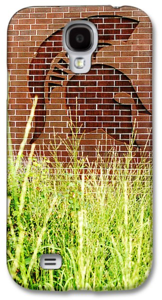 Sparty On The Wall Galaxy S4 Case by John McGraw