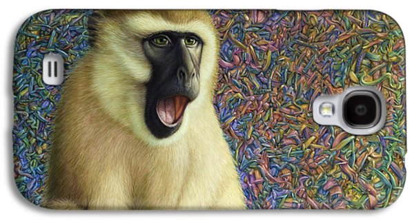 Monkey Galaxy S4 Case - Speechless by James W Johnson