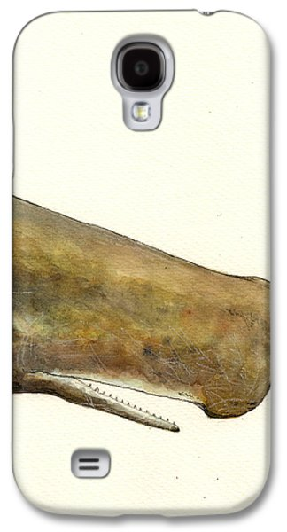 Sperm Whale First Part Galaxy S4 Case by Juan  Bosco