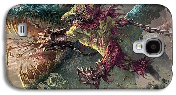 Spike Jester Galaxy S4 Case by Ryan Barger