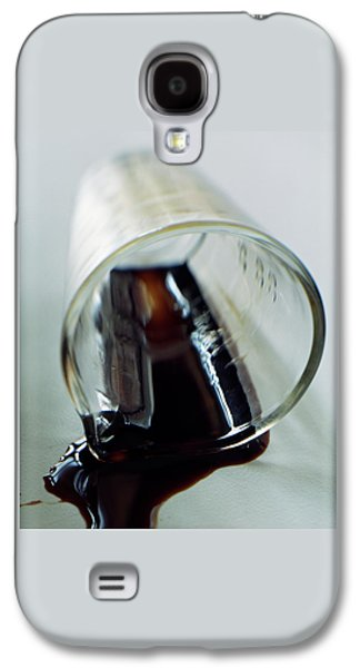 Spilled Balsamic Vinegar Galaxy S4 Case by Romulo Yanes